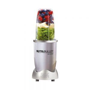 Nutribullet 600W steel color acero.