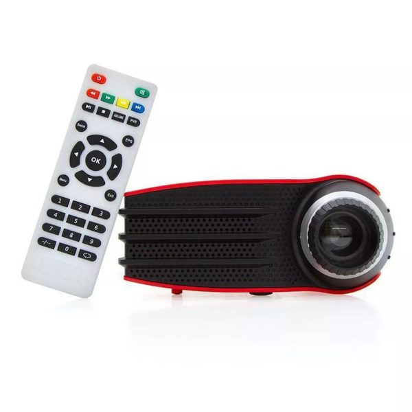 Star view video proyector LED-rojo