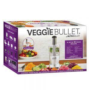 veggie bullet procesador de alimentos - caja