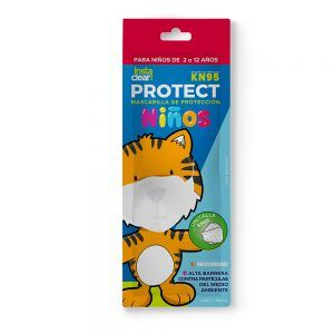 mascarilla kn95 instaclear protect infantil